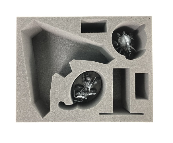 (Chaos Space Marine) Lord Discordant Heldrake Venomcrawler Foam Tray (BFL-4.5)