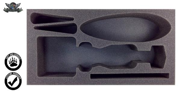 (Clearance) Corellian CR90 Corvette and Rebel Transport Foam Tray (BFM-3)