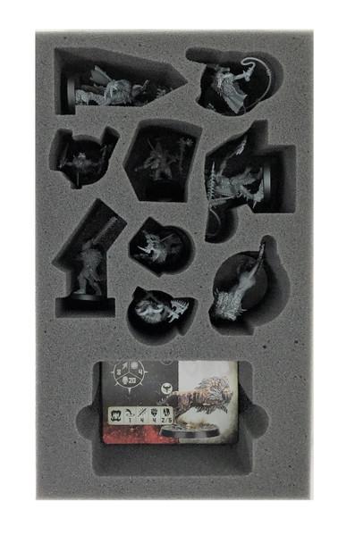 Warcry Untamed Beasts Foam Tray (BFB.5-2)