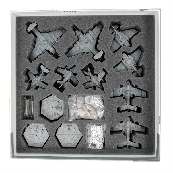 Aeronautica Imperialis Wings of Vengeance Game Box Foam Tray with Flight Stands Unassembled