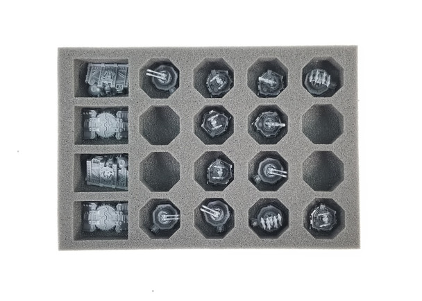 (Aeronautica Imperialis) Imperial and Ork Ground Assets Foam Tray (BFS-1)