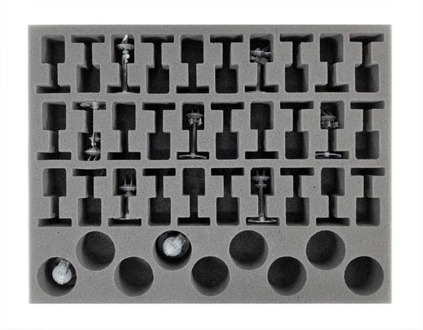 (Tau) 30 Drone 9 Turret Foam Tray (BFL-1.5)