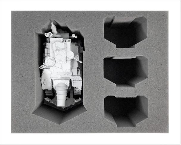 (Ork) 1 Kill Bursta/Blasta 3 Killa Kan Foam Tray (BFL-4.5)