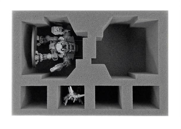 Space Marines 2 Invictor Foam Tray (BFS-3.5)