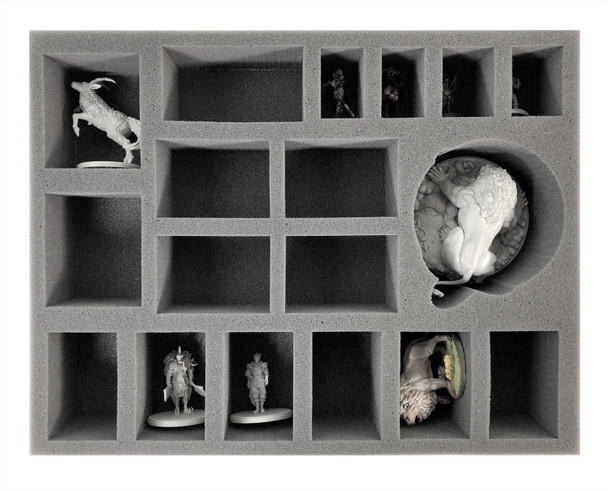 Kingdom Death White Gigalion and Large Model Foam Tray (BFL-2.5)