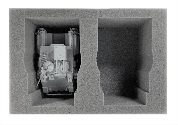 (Space Marine) 2 Primaris Impulsor/Gladiator Foam Tray (BFS)