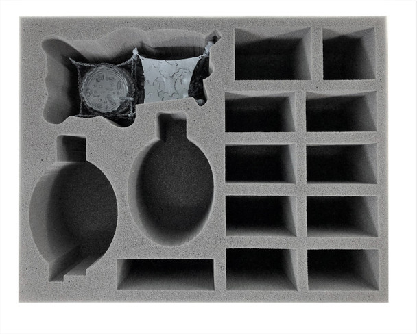 Age of Sigmar Ogor Mawtribes Great Mawpot and Heroes Foam Tray (BFL-4.5)