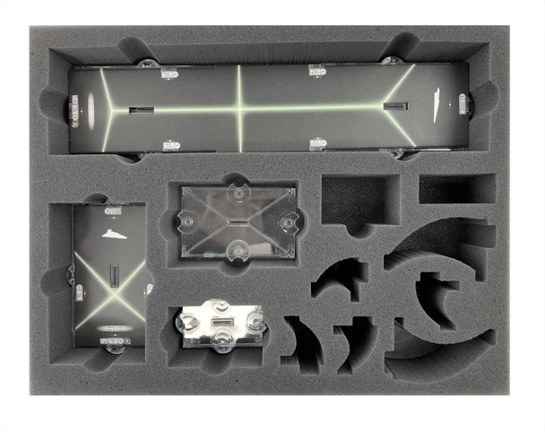 Star Wars Armada Large Flight Stands and Stems Foam Tray (BFL-2.5)