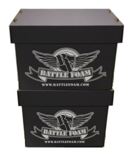 Battle Foam Large Stacker Box Hobby Hoarder Load Out (Black)