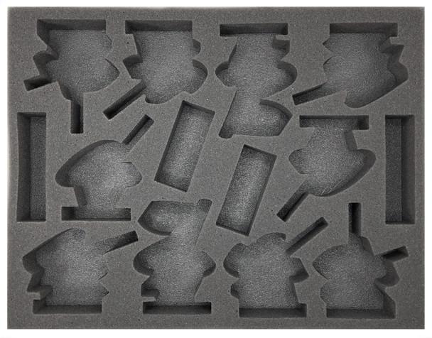 Age of Sigmar Lumineth Realm-Lords 10 Vanari Dawnriders Foam Tray (BFL-1.5)