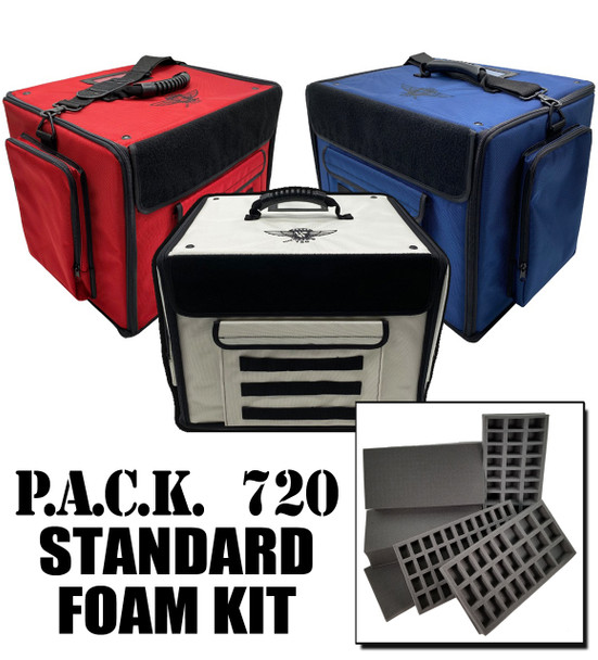 (720) P.A.C.K. 720 Molle Half Tray Standard Load Out