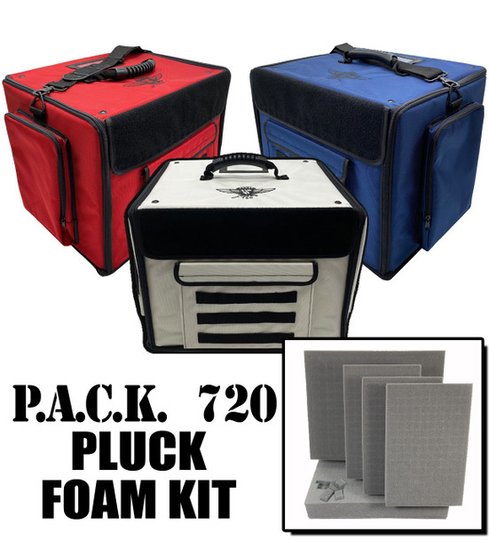 (720) P.A.C.K. 720 Molle Half Tray Pluck Foam Load Out