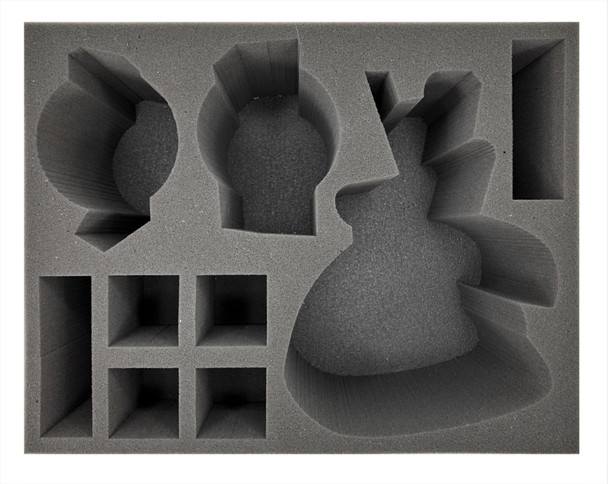 Age of Sigmar Lumineth Realm-Lords Teclis Avalenor Alarith and Characters Foam Tray (BFL-6)