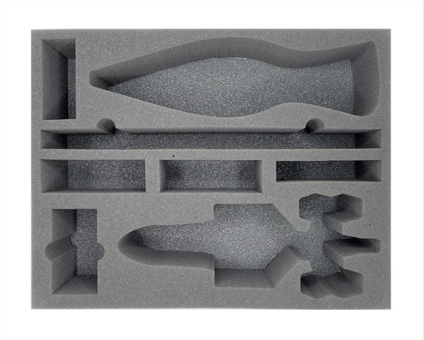 Star Wars X-Wing Trident-Class Assault Ship and C-Roc Cruiser Foam Tray (BFL-4)