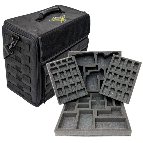 (432) P.A.C.K. 432 Molle Vertical Kill Team Octarius Load Out (Black)