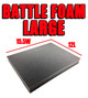 Battle Foam Large (15.5W x 12L)