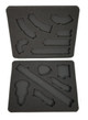 Gaslands Template Foam Kit for the Sirocco Black Label Case (SR)