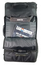 The zippered pocket on the front of the bag is designed for books, templates and other slim gaming accessories.