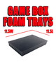 Game Box Foam Trays