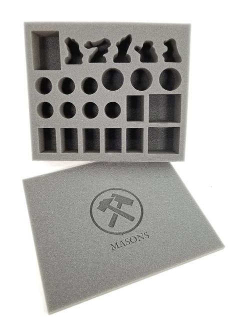 G1817 Minze Kräuterschild Kräuterstecker Emaille Erdspieß 25 cm