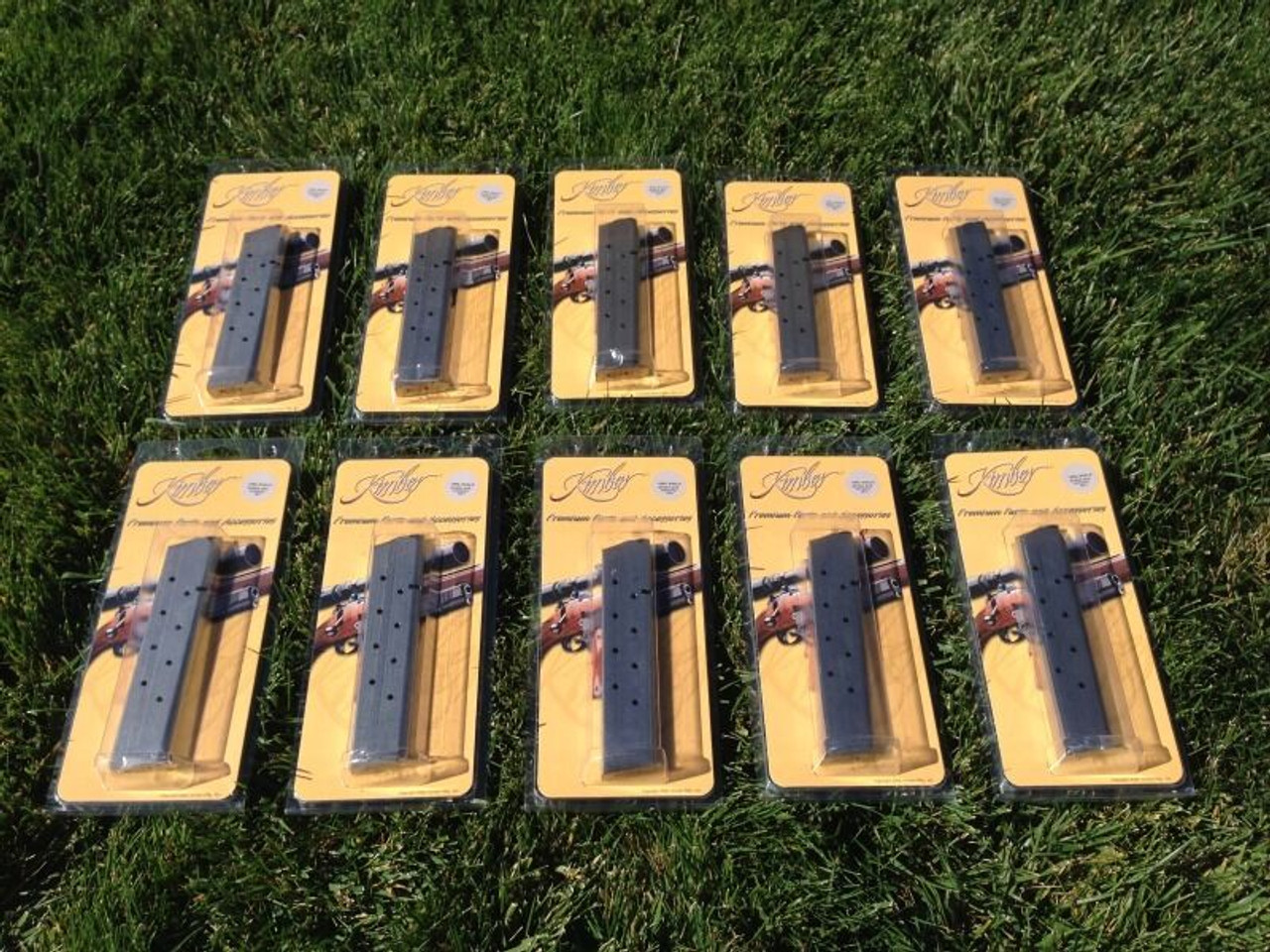 10 Pack Kimber 1911 Full-Size Magazines Mag 10 Round EXTENDED MAGS Made in  USA!!