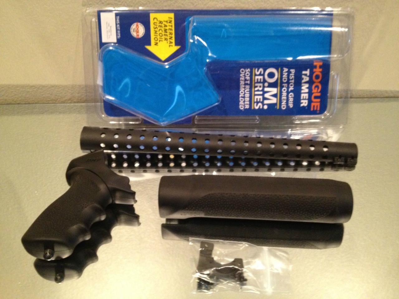 Hogue Pistol Grip Forend Heat Shield fits Mossberg 500 590 12 Gauge Shotgun