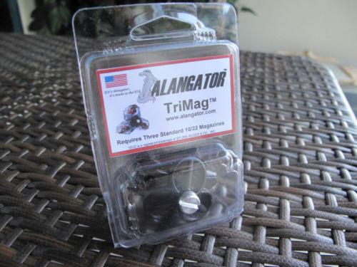 Alangator Fits 10//22 10 22 Tri Mag Magazine Holder NEW