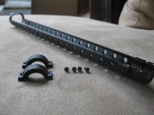 Hogue Remington 870 Pistol Grip and Heat Shield Rubber Overmold USA Made  Shroud !!