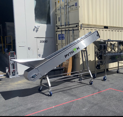 Python Stainless Steel Conveyors