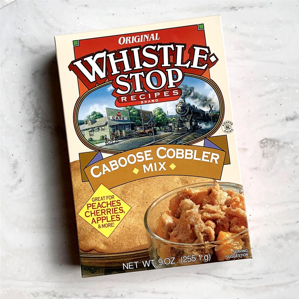 Whistle Stop Caboose Cobbler Mix