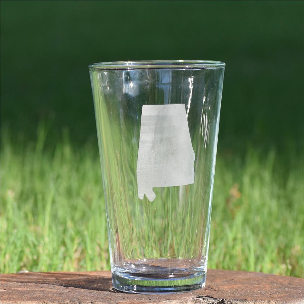 Alabama Pint Glass