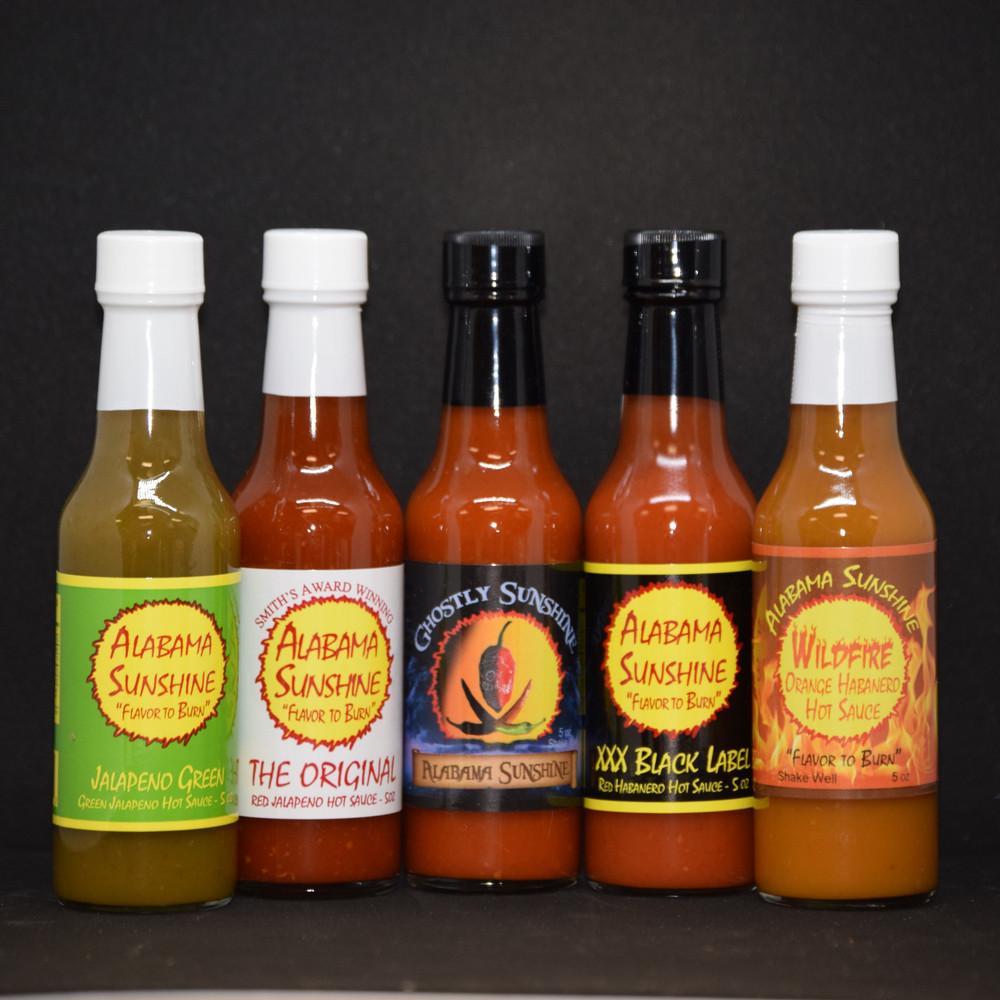 Alabama Sunshine Hot Sauce