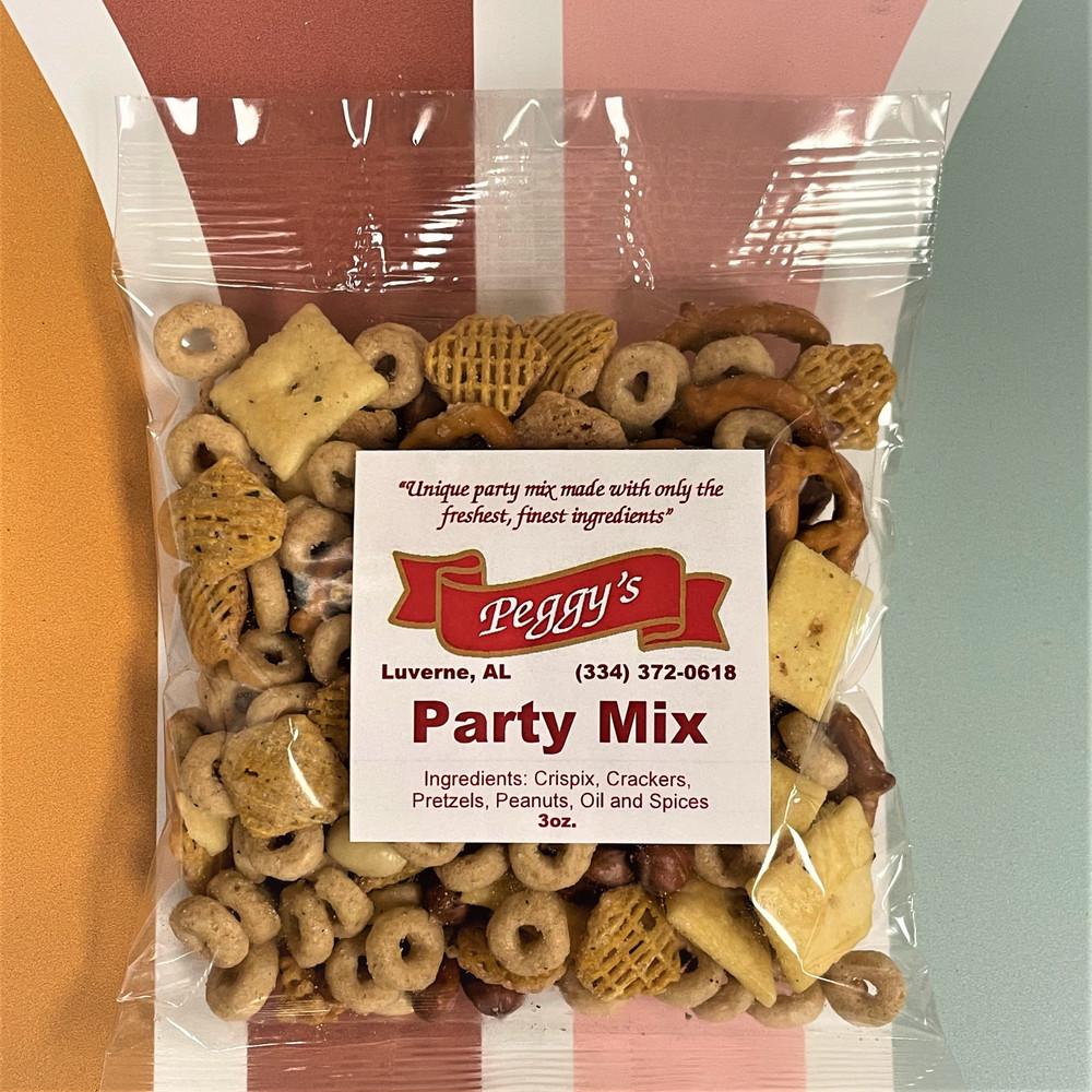Peggy's Party Mix - 3oz. Bag