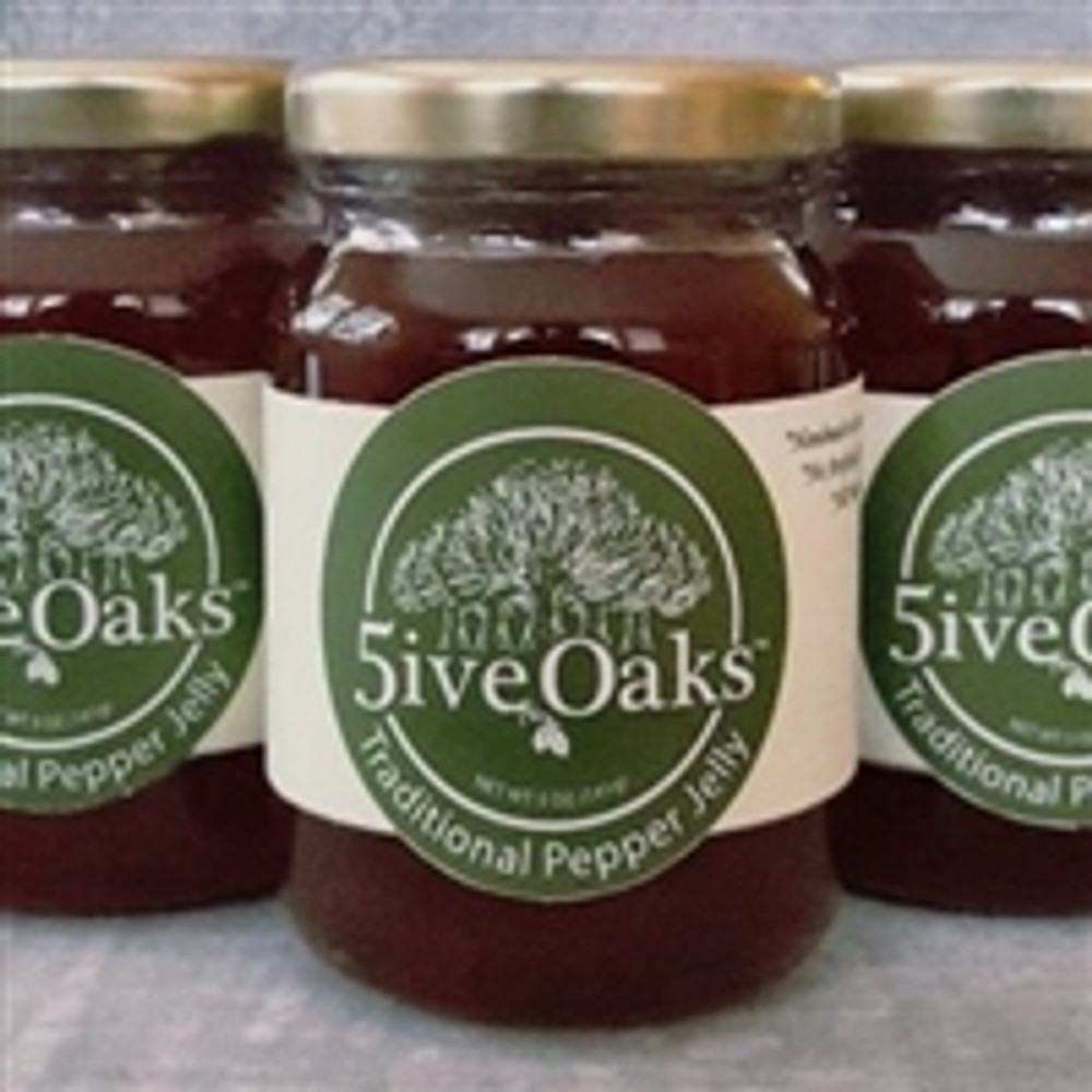 5ive Oaks Traditional Pepper Jelly