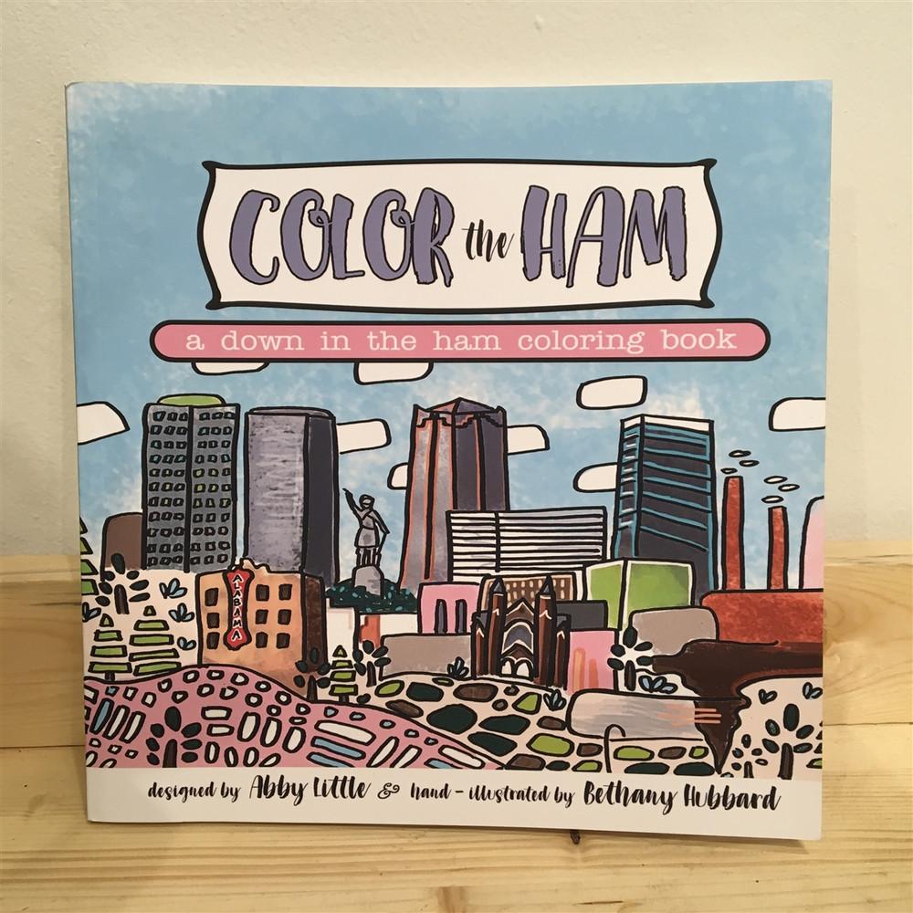 Color the Ham Coloring Book