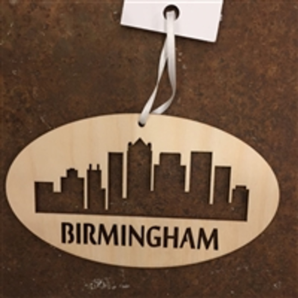 Birmingham Skyline Ornament