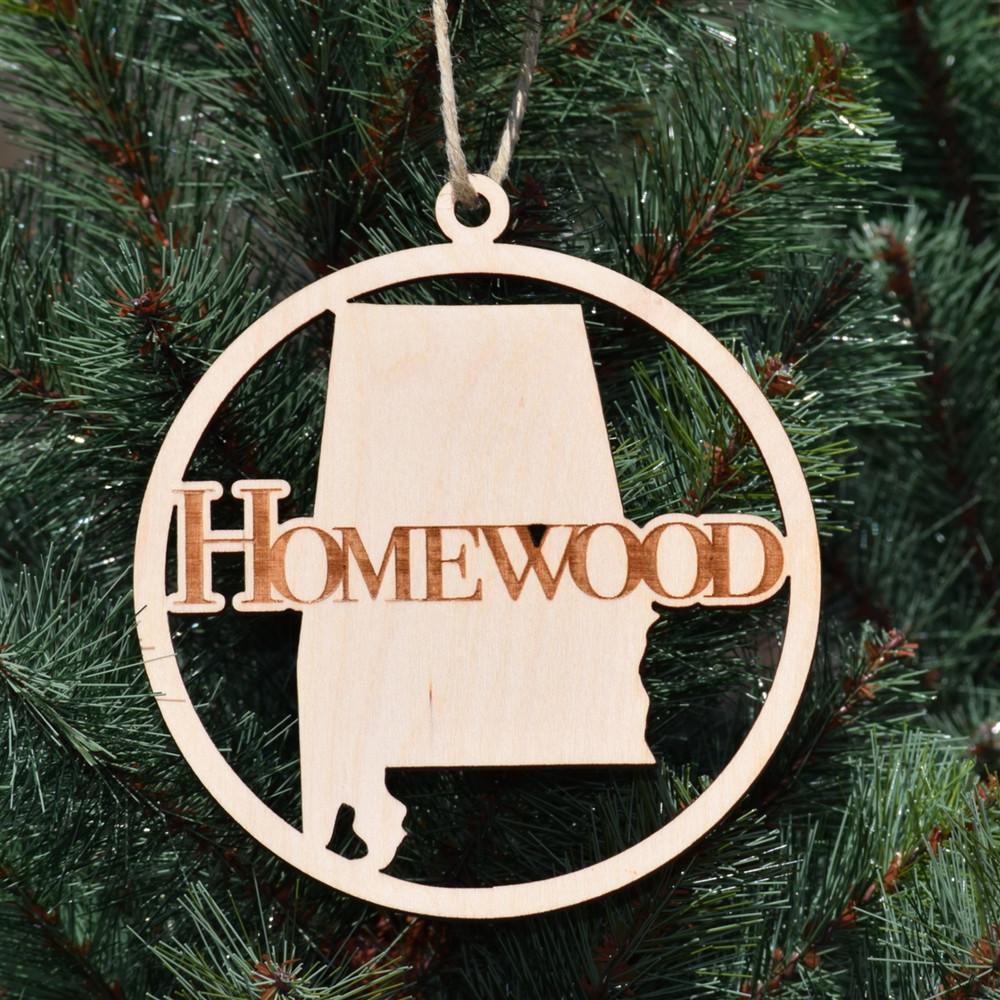 Homewood Wooden  Ornament