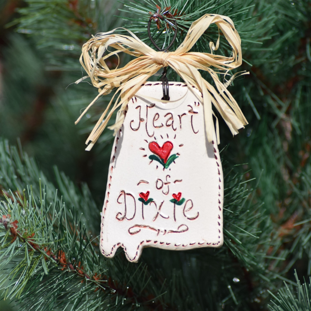Heart of Dixie Ornament