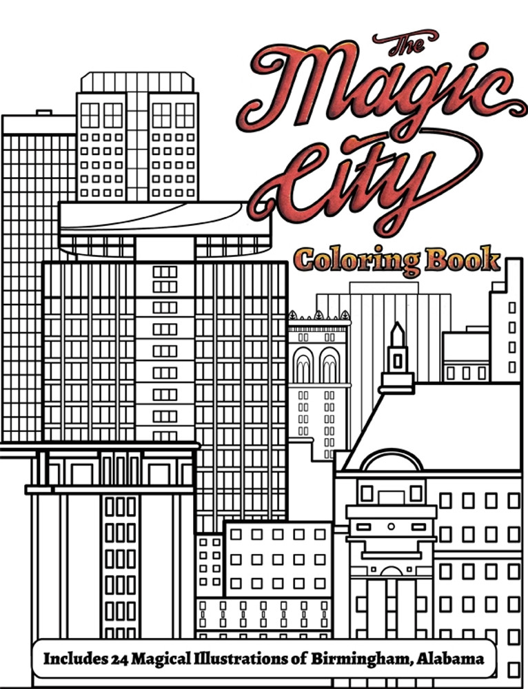 Magic City Coloring Book