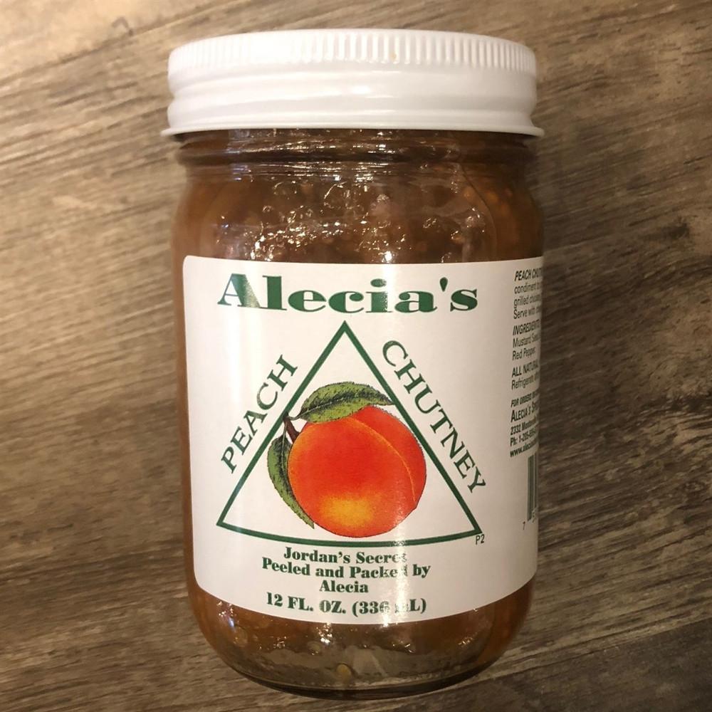 Alecias Peach Chutney