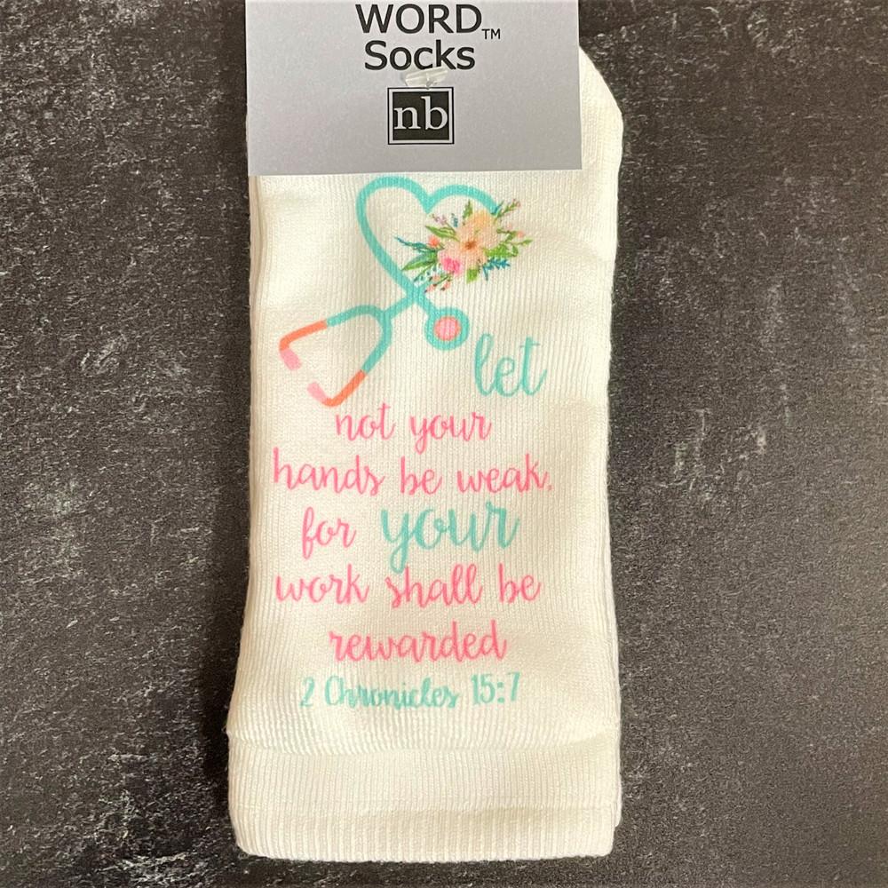 Standing on the Word Socks