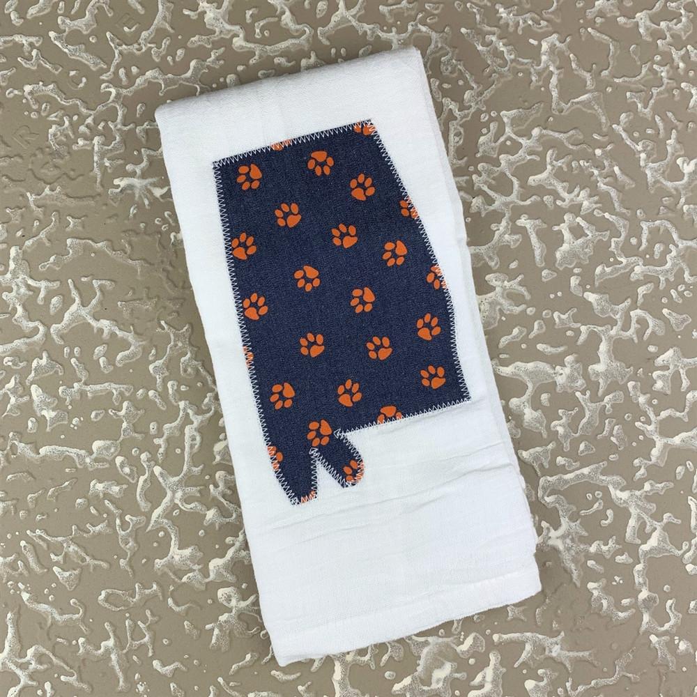 Tiger Paw Tea Towel
