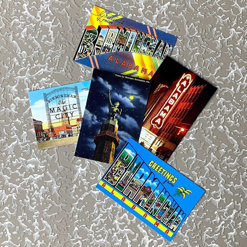 Birmingham Icon Postcards
