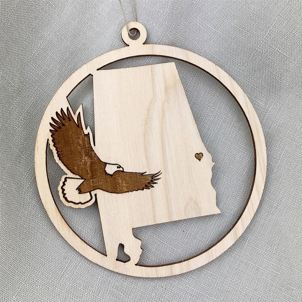 Auburn Eagle Ornament