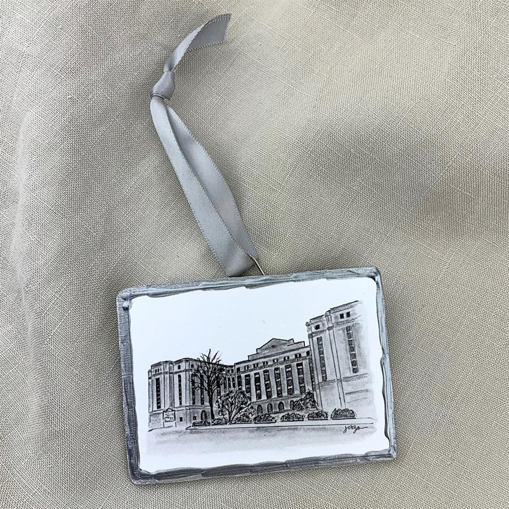 Hotel at Auburn Ornament