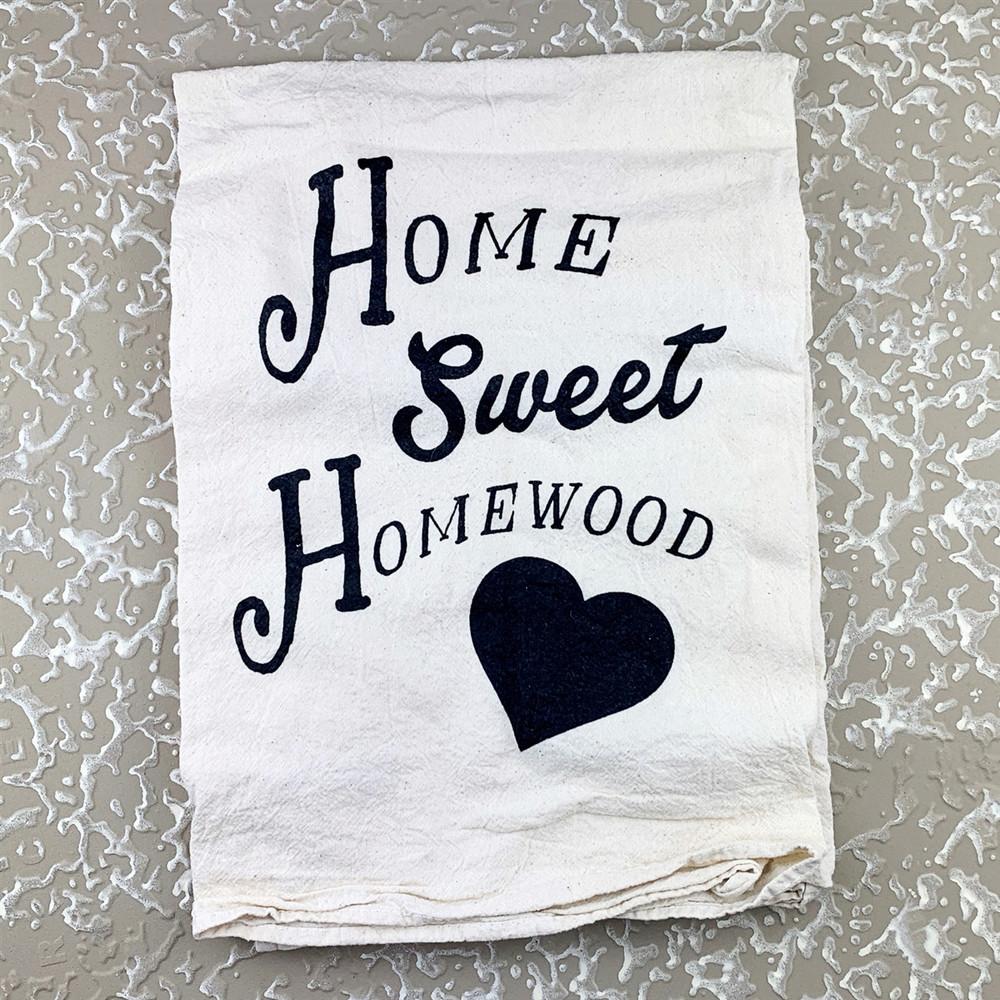 Home Sweet Homewood Towel