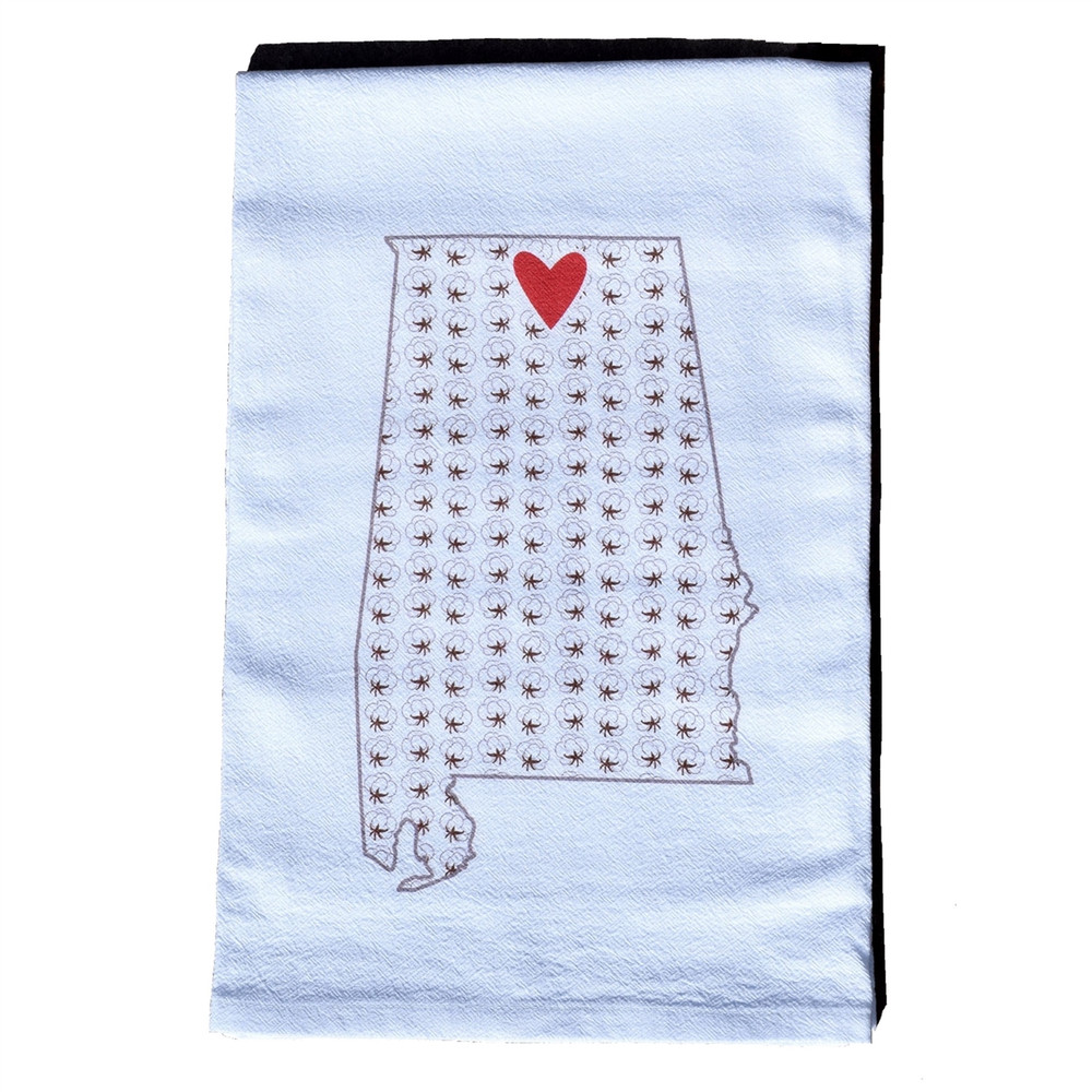 Huntsville Hometown Heart Towel