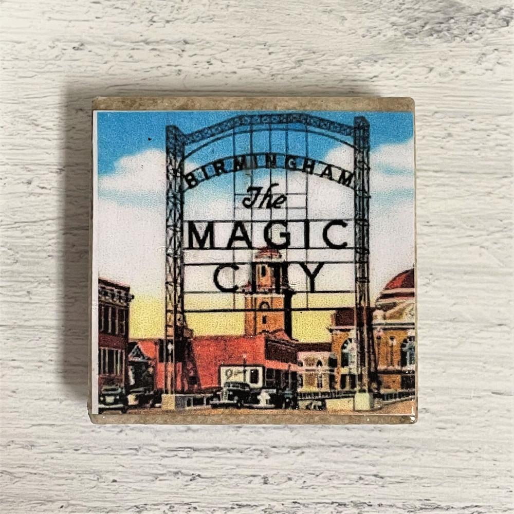 Magic City Souvenir Magnet