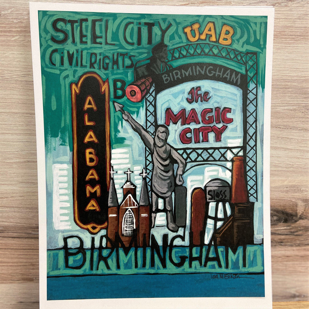 Birmingham Print