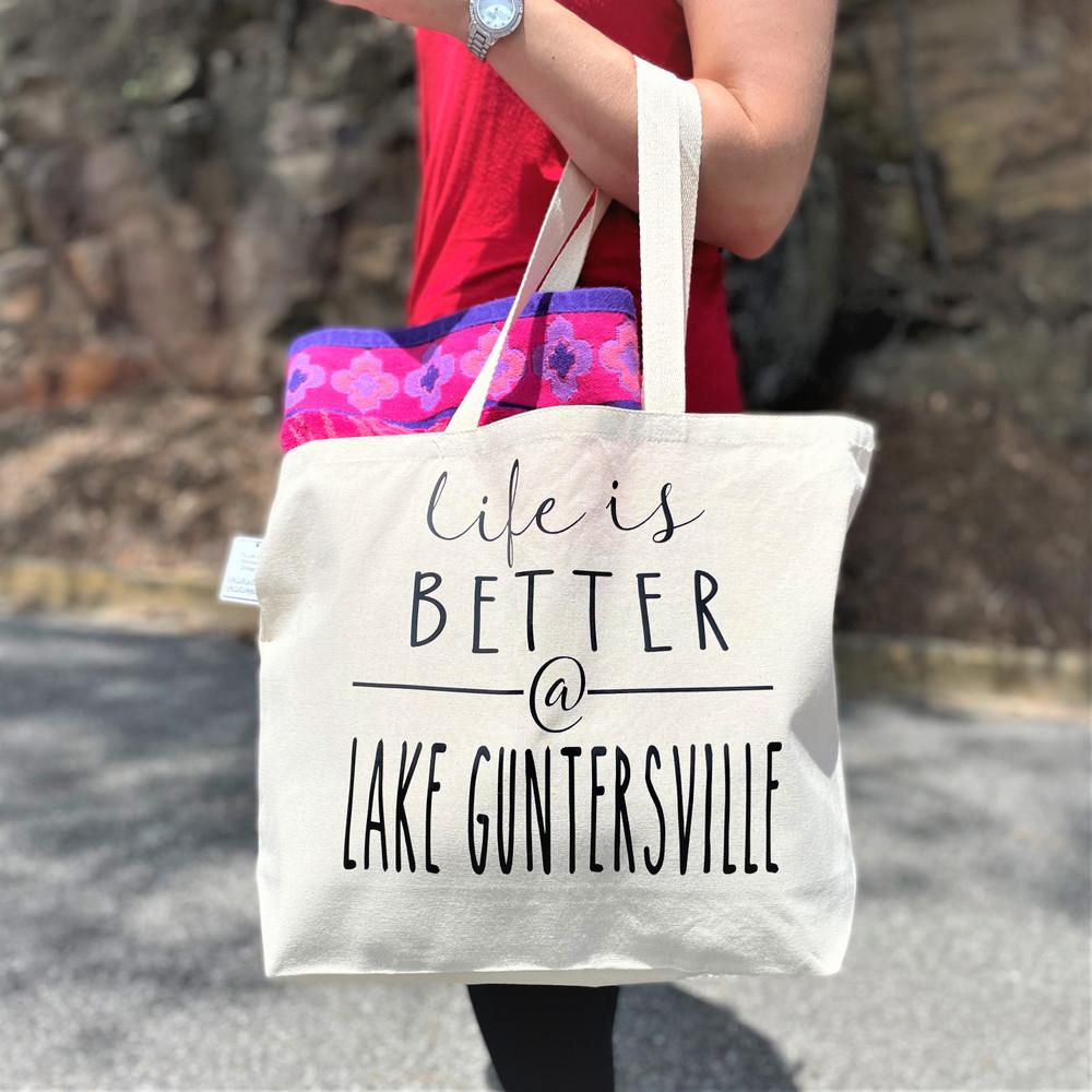 Life is Better at Lake Guntersville Tote